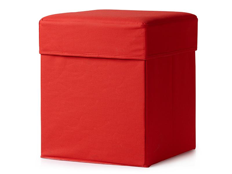 röd puff
