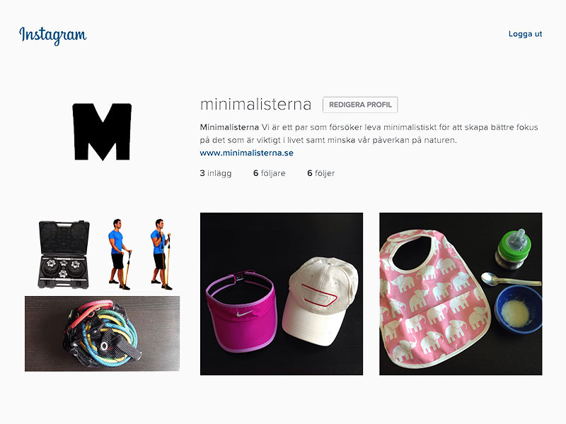 minimalisterna instagram