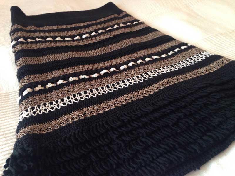 Snygg kjol som numera rensats ut och sålts.